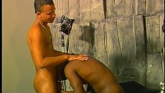 Tyson Cane gets sucked by a twink and toys his poor tight butt
